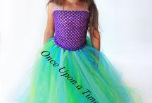 Nathy and Reni's dresses