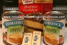 easy apple cobbler  4 ingredients