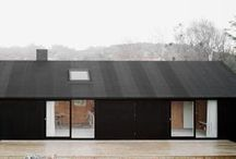 Houses of a different color. BLACK / by Bradley Odom