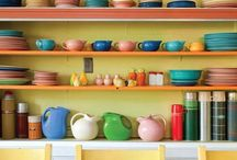 Fiesta! / I have a large Fiestaware collection, and I'm ready to make it LARGER! :) / by Heather Hill
