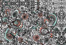 Doodles | Zentangles | Hand Drawn Art