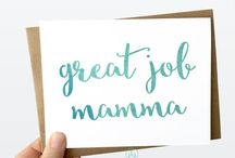 New Moms / Cards for new moms!!