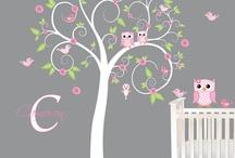 Decoración  / Ideas de decoración para piezas niños, salida niños, living, comedor o pieza ppal