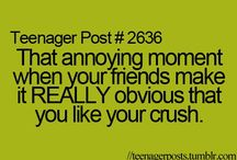 Teenager Post: 1st Category / The crazy things about teenagers