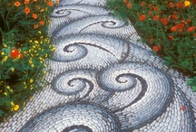 Garden Paths / Garden pathways are a part that makes the garden whole. Feast your eyes upon the pathways to a flourish bound nature.