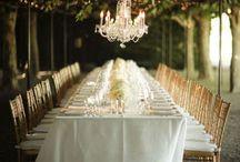 { of romantic candle-lit weddings }