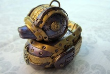 Steampunk junk - new to me, but LOVE. / by Dawn Jones