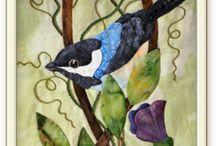 art quilt animals / by Virginia Howard