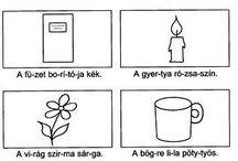 Anyanyelv 1. osztály