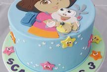 Dora the Explorer Cakes!