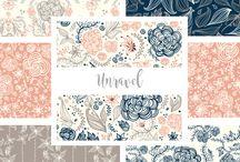 My Patterns / Surface Pattern Design. Textile Design, Art, Design, Vector Seamless Pattern.