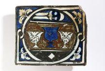 Tile, Damascus, Syria (made) ca.1425-50