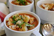 Soup and bowls