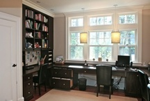 PB Library and Office / Ideas for library/reading room and office / by Christine Dattilo