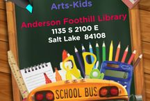 Arts Kids Events / Events that are going on in the greater Northern Utah area that deal with art