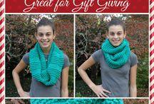 infinity scarves - knit