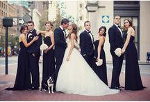 Esküvő fotók barátokkal