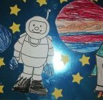 space,moon,sun,star and astronaut craft ideas for kids / This page has lots of free space crafts,sun crafts,moon crafts for kids and preschoolers