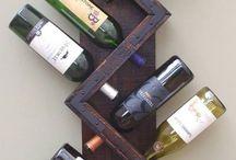 Винные шкафы в деревенском стиле