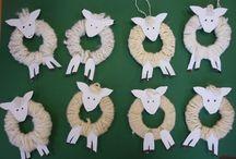 schapen knutselen