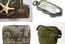 Vintage Travel, Luggage, Etc.