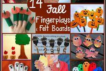 Fall fingerplays