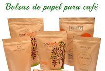 Bolsas de papel para café