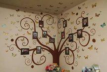 strom na zed