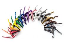 Guitar Capos / Key-changing capos for acoustic and/or electric guitars.