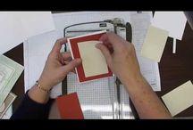 Cutting, Scoring, Layering Cardstock