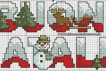 Punto Croce / Natale
