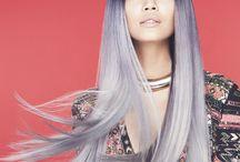 Grijs haar / Mooi natuurlijk grijs haar