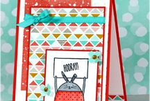 Cheerful Critters Card Ideas / by Laurie Graham: Avon Rep/Stampin' Up! Demo