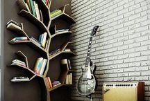 Bookcases, shelves etc