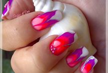 nail art water marble  / by Leticia Torres