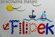 Drewniane literki do pokoju dziecięcego / drewniane literki, literki na ścianę, drewniane dekoracje, pokój dziecka, pokój dziecięcy, imię dziecka