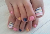 Fun nails  / by Jenny Hager