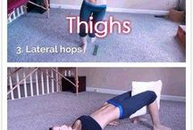 Thigh and legs workouts