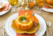 Pumpkin Pagent / One fine dinner where pumpkin is highlighted----or a day----or a season!