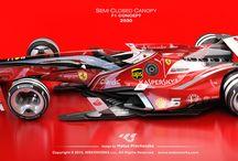Matus Prochaczka / F1 semi closed canopy concept. / by F1world.it
