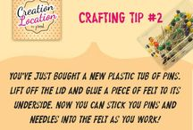 Crafting Tips / How to's, ideas and tips for crafters