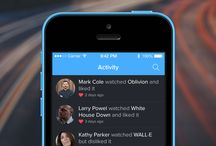 Mobile UI \\ Activity feed