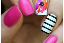 Spring Nail Art / Nails in the spring