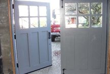 Farmhouse garage door