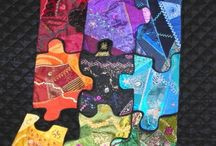 favourite quilts: scrap, improvisational, crazy