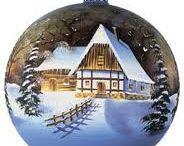 Sfere natalizie fai da te / Natale