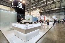 Algra & Iemca Bucci Industries / Act Events Allestimenti fieristici Exhibition stand display