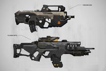 Sci Fi Weapon Concepts