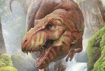 Ilustração de dinossauro