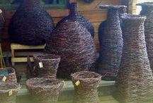 Risutuotteita / Koriste- ja käyttöesineitä luonnonmateriaaleista